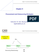Ch 9 Procurement and Outsourcing MSc 2017 Class