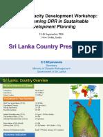 Sri Lanka Country Presentation