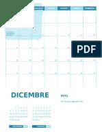 Calendario Dic.2017