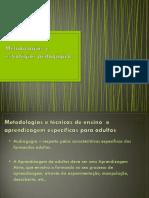 Metodologias e Estratégias Pedagógicas Pp