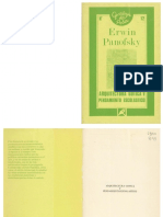 ErwinPanofski - Arquitectura GóticaYPensamiento