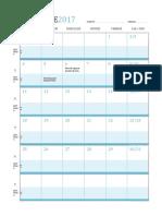 Calendario Lezioni Dic.2017
