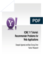 ICML RecommenderProblems Intro