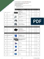 BestSub Sublimation Machines Quotation Sheet 2016
