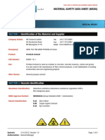 Hr Cement Msds Gp Type Cement