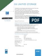 Dell EMC VNXe3200 Hybrid Storage datasheet.pdf
