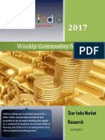 Weekly Commodity News Latter 25-12-2017