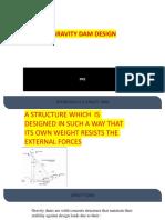 Simple Gravity Dam Design
