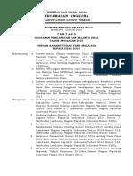 Rancangan Peraturan Desa Tentang Apbdesa