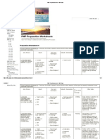 PMP Prep Worksheets - PMP Bank