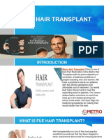 FUE Hair Transplant Clinic in UAE