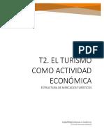 t2. El Turismo Como Actividad Económica