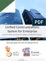 Unified Communications Enterprise