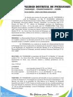 Contrato de Compra Venta Municipalidad