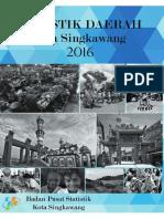 Statistik Daerah Kota Singkawang 2016