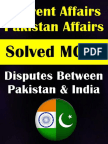 Disputes Between Pakistan & India Solved MCQs.pdf