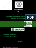 Religare Projecr Report