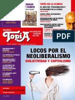 """Locos Por El Neoliberalismo. """"Revista Topía 77"""""""
