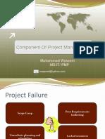 Component of P M Lec# 3