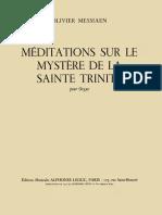 Méditations sur le mystère de la Sainte Trinité.pdf