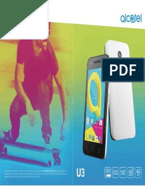Alcatel U3 - Alcatel U3 User Guide | Mobile Phones | Android