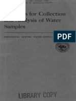 Book of Methods for Collection and Analysis of Water