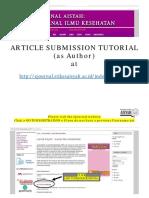 Tutorial Submission Jurnal Aisyah