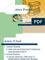 investigatory project introduction example