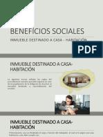 Beneficios Sociales #