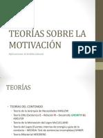 Teoras Sobre La Motivacin Diseo