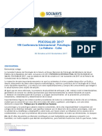 Psicologia Cuba 2017