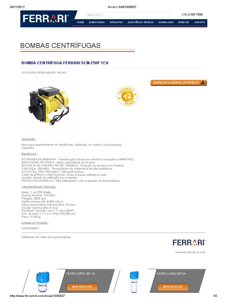 Bomba Ferrari   AAB1030027 73852830aee