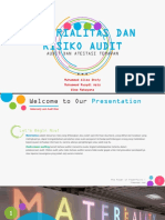 Ppt Audit Materialitas Fix