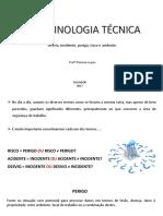 Aula 2 - Terminologia Técnica
