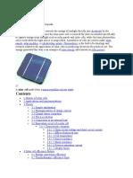 Solar Cell - Wikipedia, The Free Encyclopedia