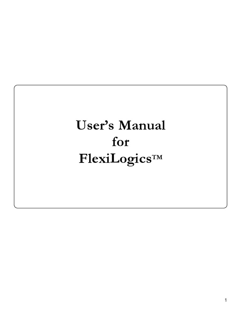 FlexiLogics Manual (1) | Programmable Logic Controller | Subroutine