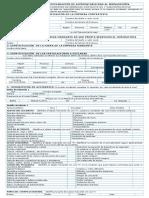 Formulario de Seguridad Minera E200 SIMIN2.0