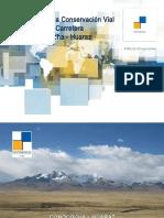 Experiencia Conservación Vial Conococha-Huaraz