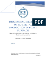 Heat & Mass Balance for Blast Furnace - Report Rev 1