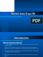 12971523 Maruti Auto Expo Ppt