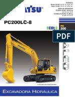 Especificaciones Komatsu Pc 200