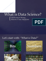What is Data Science GDI