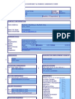 Accountancy & Finance Skills Update Form(1)