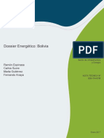 Dossier Energetico Bolivia