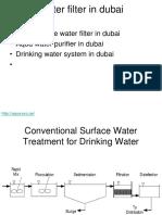 Water Filter in Dubai