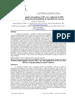 Aplicação Do EPS Reciclado Para Redução Da Permeabilidade de Superficies de Concreto