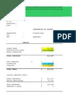 Liquidacion de Sueldo Libro de Remuneraciones