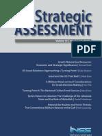 Institute for National Security Studies di Tel Aviv - New Strategic Assessment - July 2010