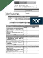 Ficha UGEL 01 Autoevaluación Directivo de HOY