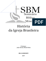 APOSTILA - História Da Igreja Brasileira